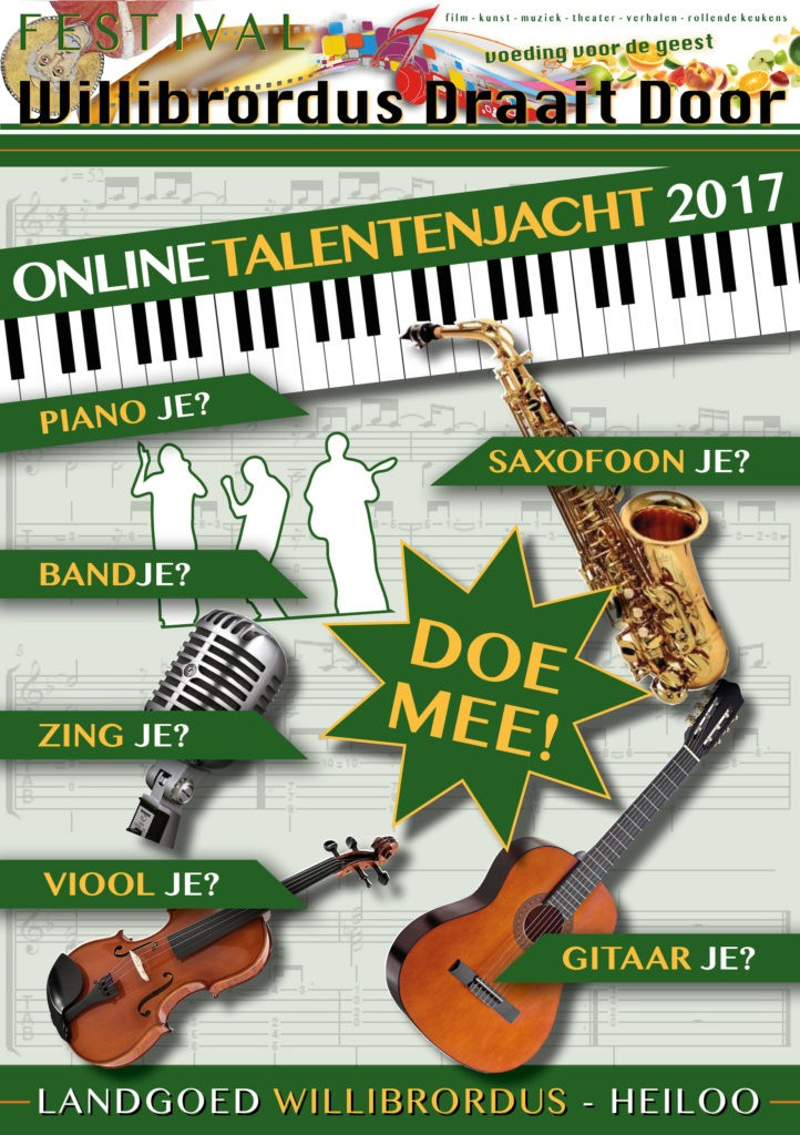Online talentenjacht