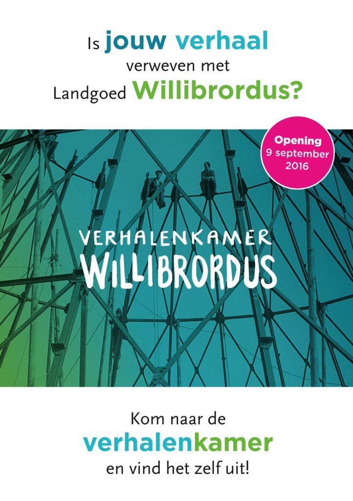 Flyer Verhalenkamer Willibrordus voorkant