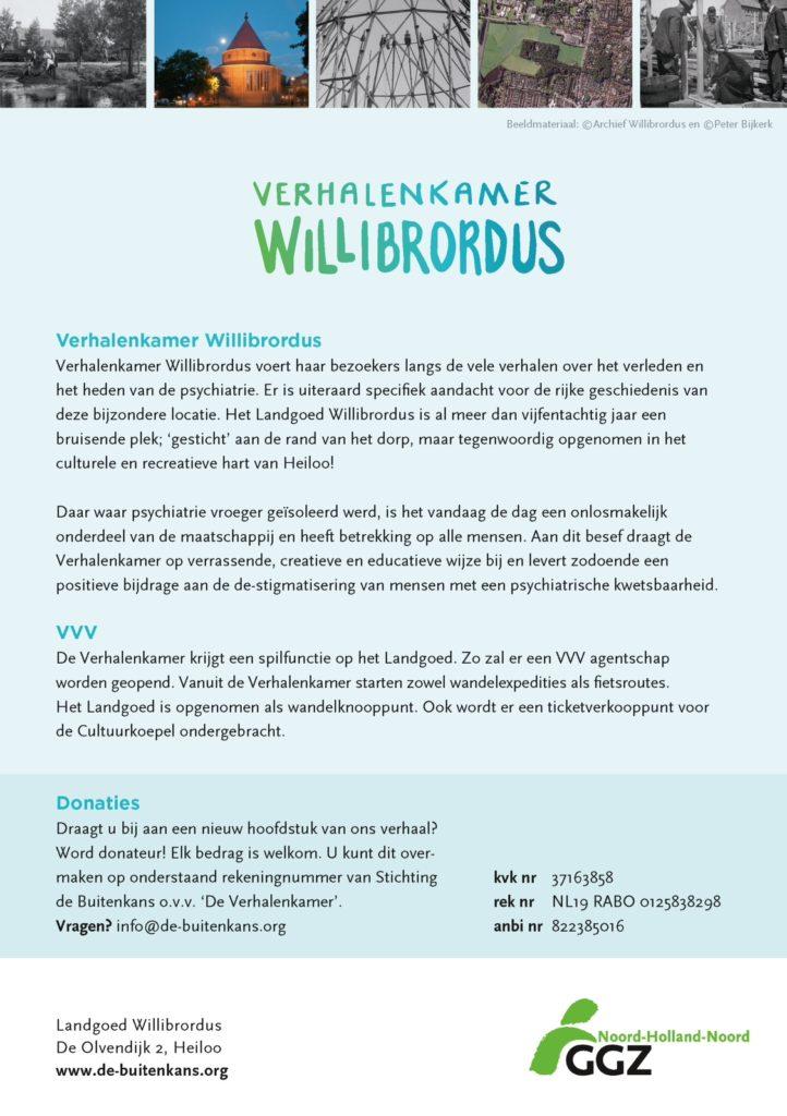 Flyer Verhalenkamer Willibrordus achterkant