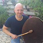 Sjamaan drummen