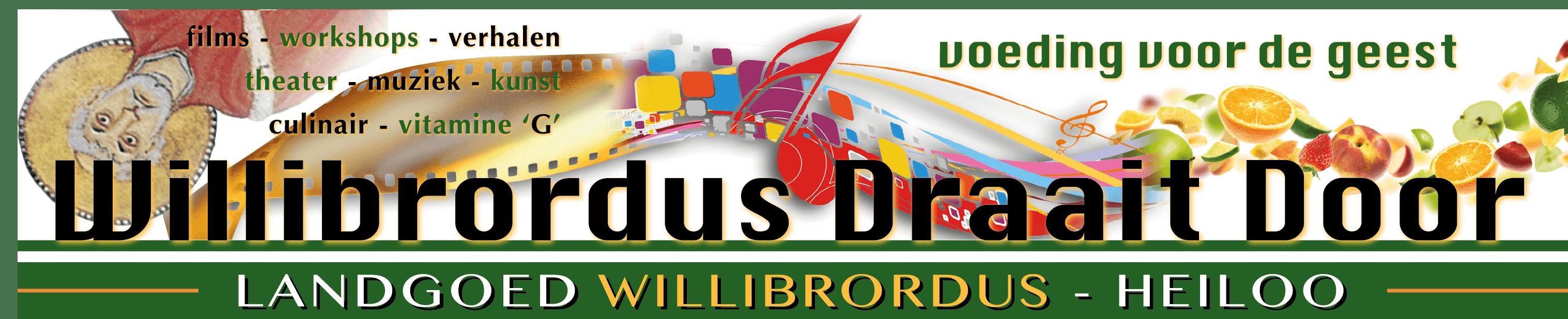 Willibrordus Draait Door 2018 Logo
