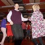 Dansen met ouderen en jonger